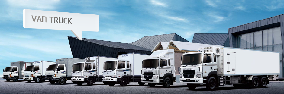 Hyundai Van Truck - Vehicle Line-up